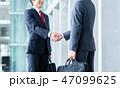 握手 ビジネスマン ビジネスの写真 47099625