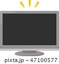 テレビ 正面 47100577