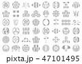 武将家紋銀2 47101495