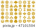 武将家紋金 47101504