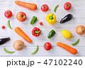 野菜 料理 ベジタブルの写真 47102240