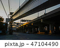 道路 高速道路 高架道路の写真 47104490