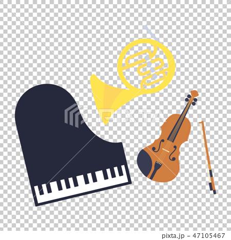 素材−楽器(3種類)5 47105467