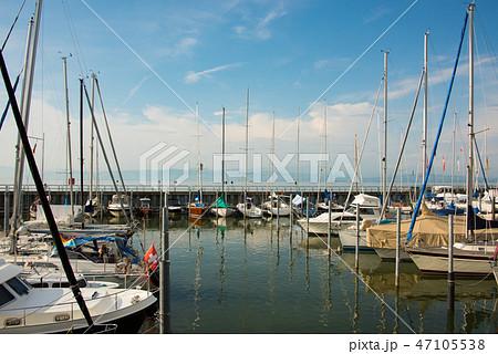 The marina of Friedrichshafen at Lake Constance 47105538
