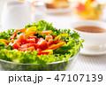 朝食~野菜サラダ 47107139