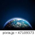 地球 スペース 空間のイラスト 47109373