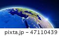 ヨーロッパ 欧州 アフリカのイラスト 47110439