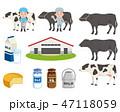酪農 牛 乳製品 セット 47118059