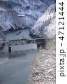第三只見川橋梁を走る只見線 47121444