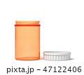 プラスチック プラスティック つぼのイラスト 47122406