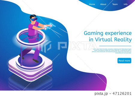 Isometric Gaming Experience in Virtual Reality 47126201