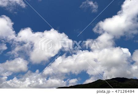 空と雲と山 47126494