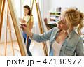 女性 美術 スクールの写真 47130972