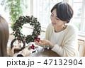 クリスマスリース 47132904