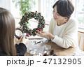 クリスマスリース 47132905
