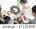 クリスマスリース 47132909