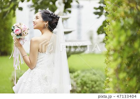 女性 ポートレート 結婚 ブライダル 47133404