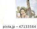 人物 女性 若い女性の写真 47133564