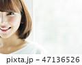 女性 人物 ダイエットの写真 47136526