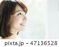 女性 人物 ダイエットの写真 47136528