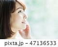 女性 人物 ダイエットの写真 47136533