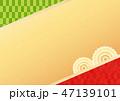 背景 和柄 模様のイラスト 47139101