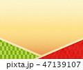 背景 和柄 柄のイラスト 47139107