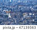 京都 京都市内遠望 秋の本願寺 47139363
