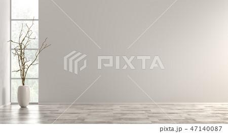 Interior background 3d render 47140087