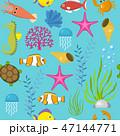 パターン 柄 模様のイラスト 47144771