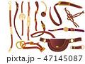 ベルト チェーン 鎖のイラスト 47145087