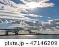 東京ゲートブリッジ 橋 東京湾の写真 47146209