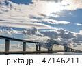 東京ゲートブリッジ 橋 東京湾の写真 47146211