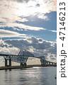 東京ゲートブリッジ 橋 東京湾の写真 47146213