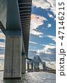 東京ゲートブリッジ 橋 東京湾の写真 47146215