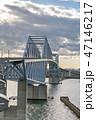 東京ゲートブリッジ 橋 東京湾の写真 47146217