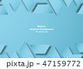 抽象的 背景 青のイラスト 47159772