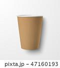 カップ 紙 ペーパーのイラスト 47160193