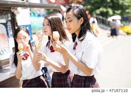 女子高生 札幌 修学旅行  47167110