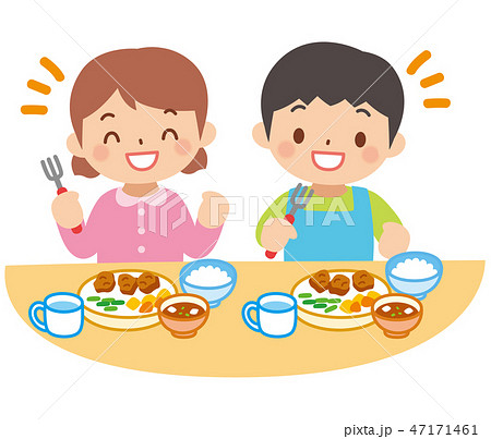 子供の食事 47171461