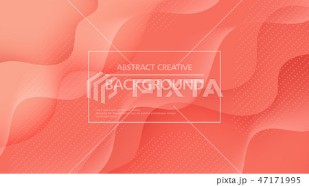 Minimalist abstract background with waves 47171995