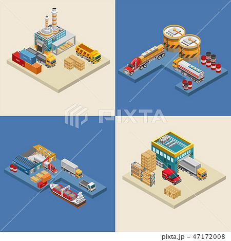 Freight transport near industrial facilities 47172008
