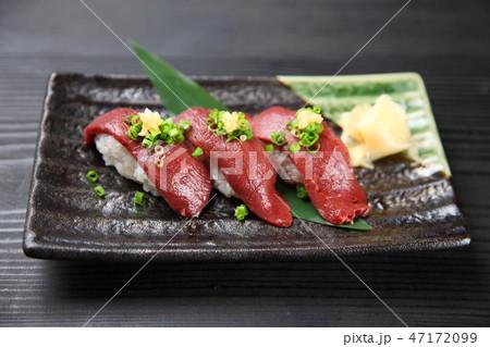 馬刺しにぎり寿司 47172099