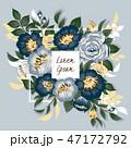 花束 フローラル フラワーのイラスト 47172792