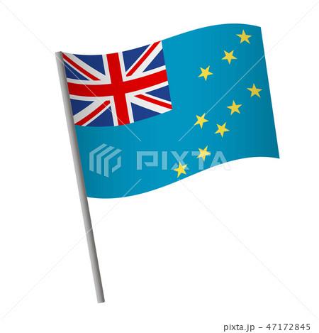 Tuvalu flag icon. 47172845