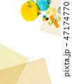水彩 コラージュ テクスチャーのイラスト 47174770