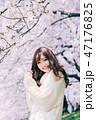 春のビューティーイメージ 47176825