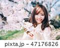 春のビューティーイメージ 47176826