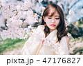 春のビューティーイメージ 47176827