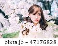 春のビューティーイメージ 47176828